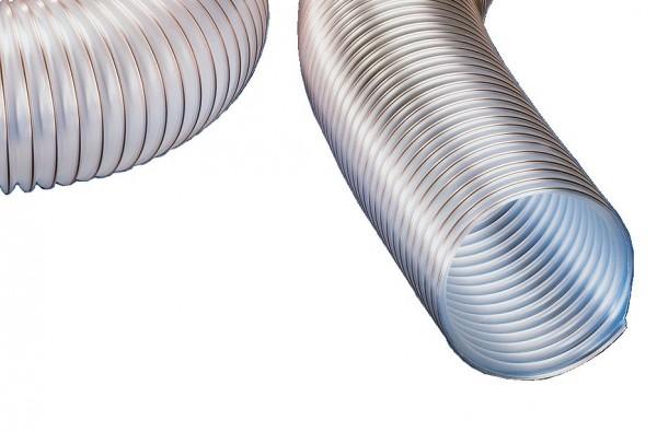 Absaugschlauch 5m- oder 10m-Rolle - superleichter Spiralschlauch