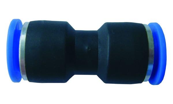 Druckluftzubehör - Gerader Steckvebinder Durchgang