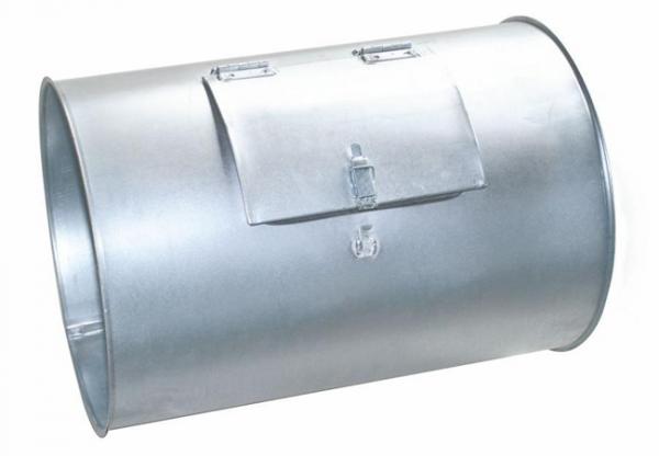 Rohr 500mm mit Reinigungsöffnung