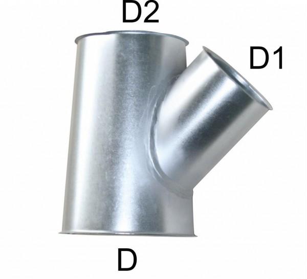 Abzweig 45° D= 560 mm