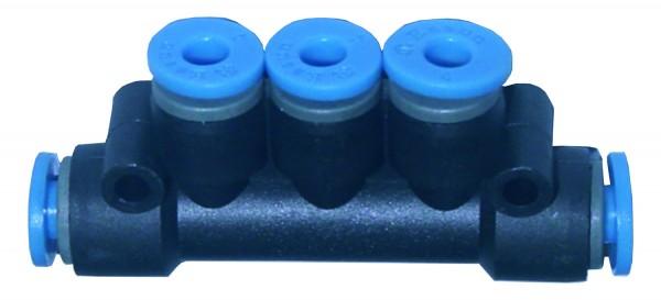 Druckluftzubehör - T-Mehrfachverteiler