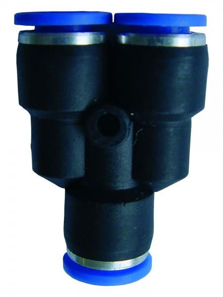 Druckluftzubehör - Y-Steckverbinder reduziert