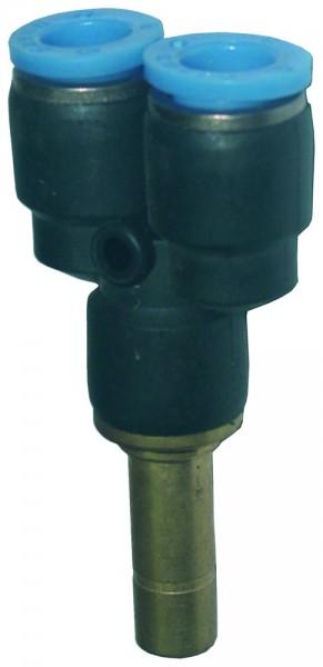 Druckluftzubehör - Y-Steckverbinder mit Stecknippel